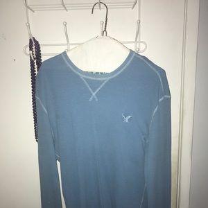 Blue American Eagle long sleeve